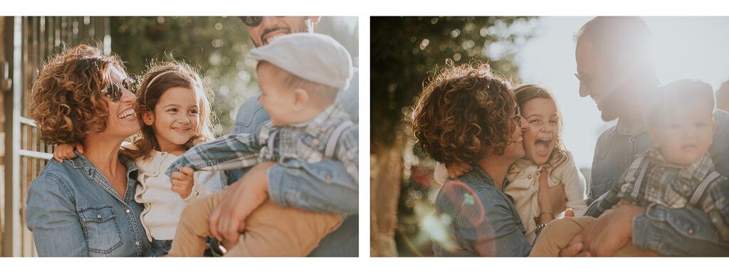 foto di famiglia a roma