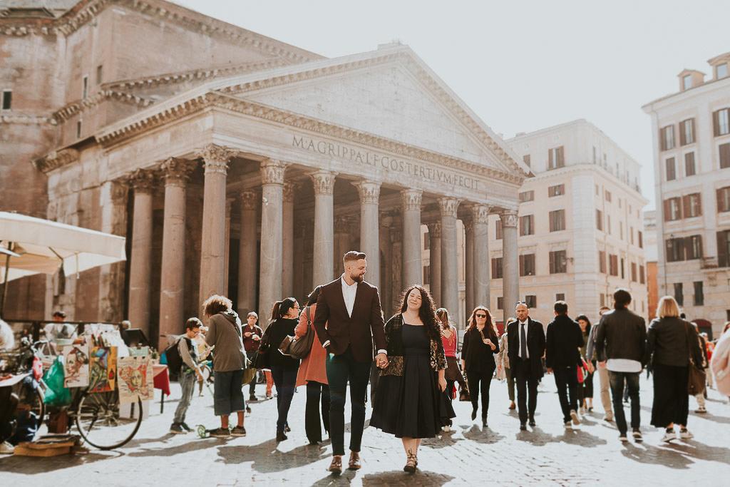 servizio fotografico al pantheon