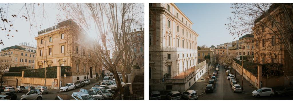 matrimonio invernale a roma