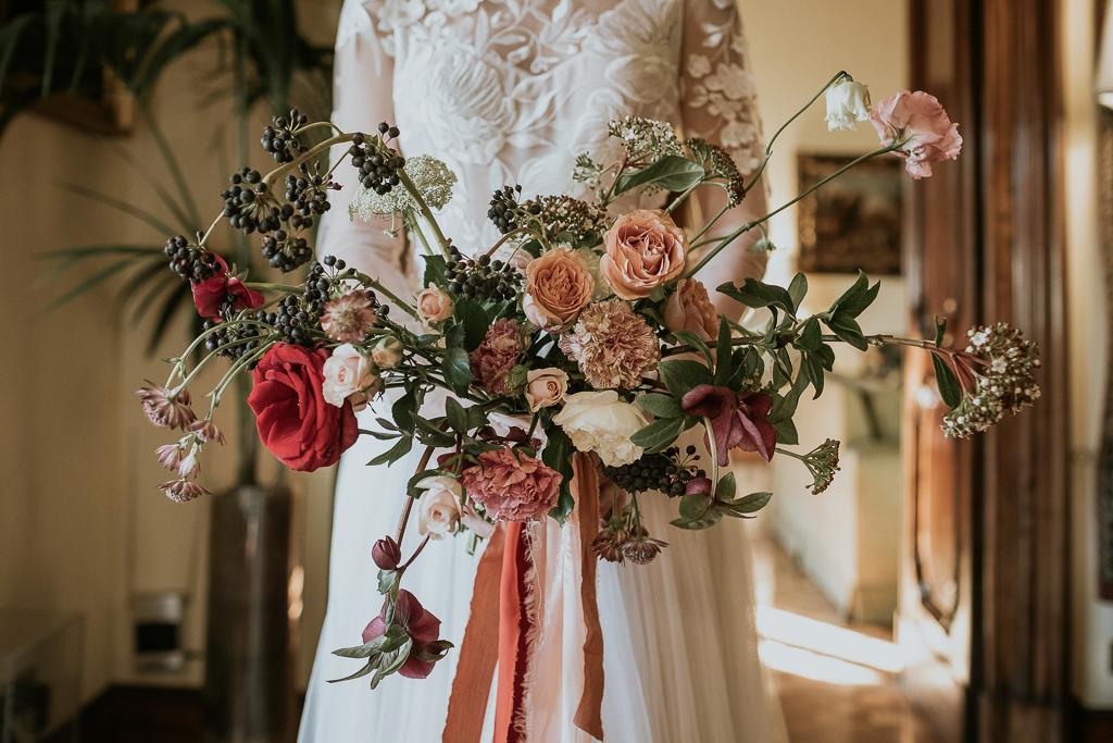 magnifico il bouquet della sposa del destination wedding