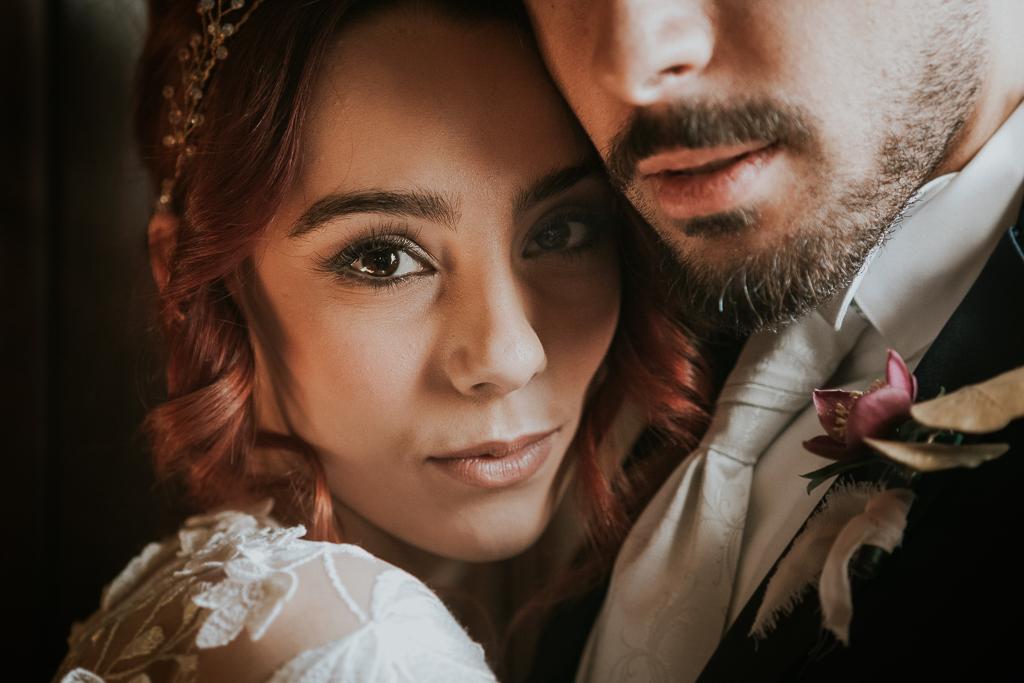 gli occhi della sposa del destination wedding a roma