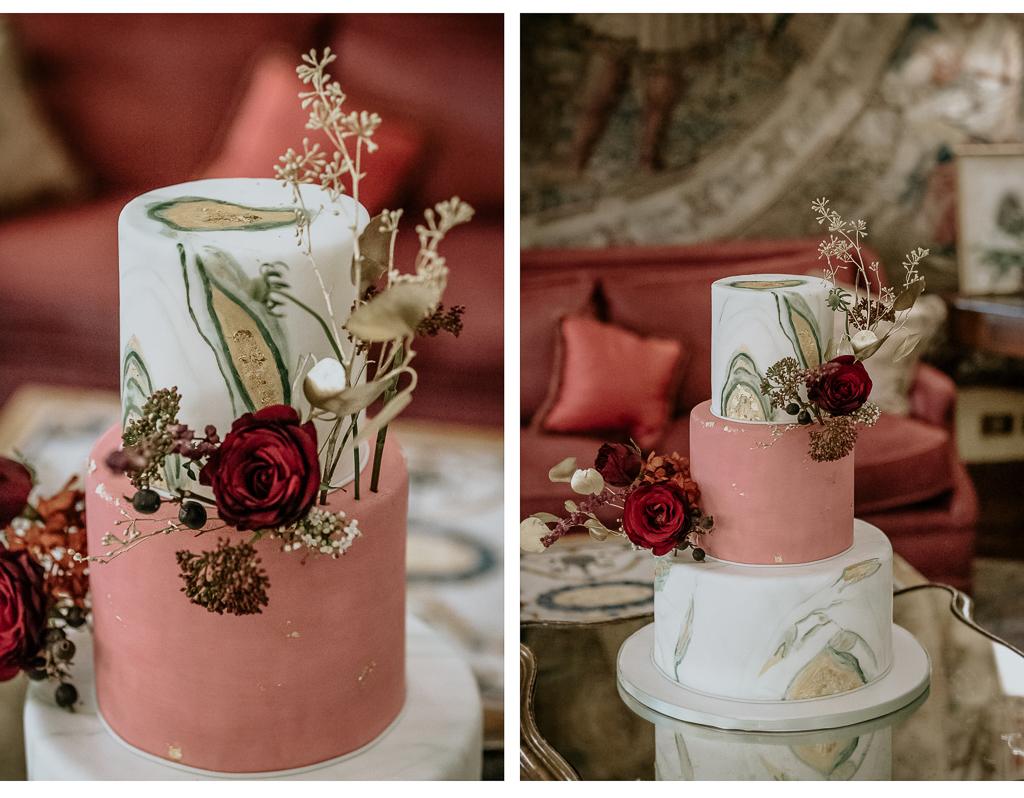 la torta di matrimonio invernale a roma