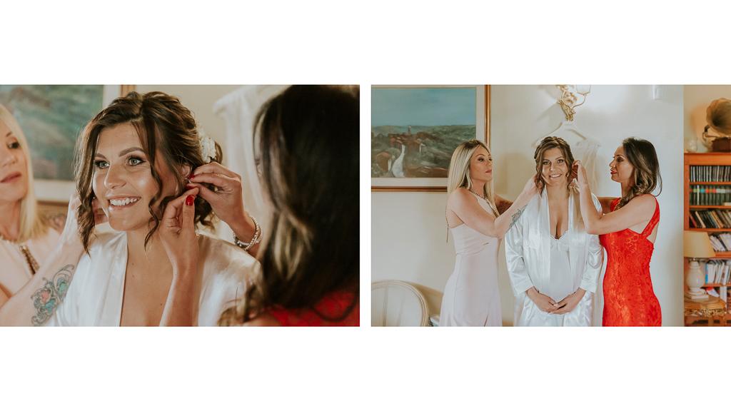 preparazione sposa in tenuta ceccucci roma