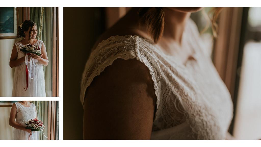 dettagli della sposa in tenuta ceccucci roma