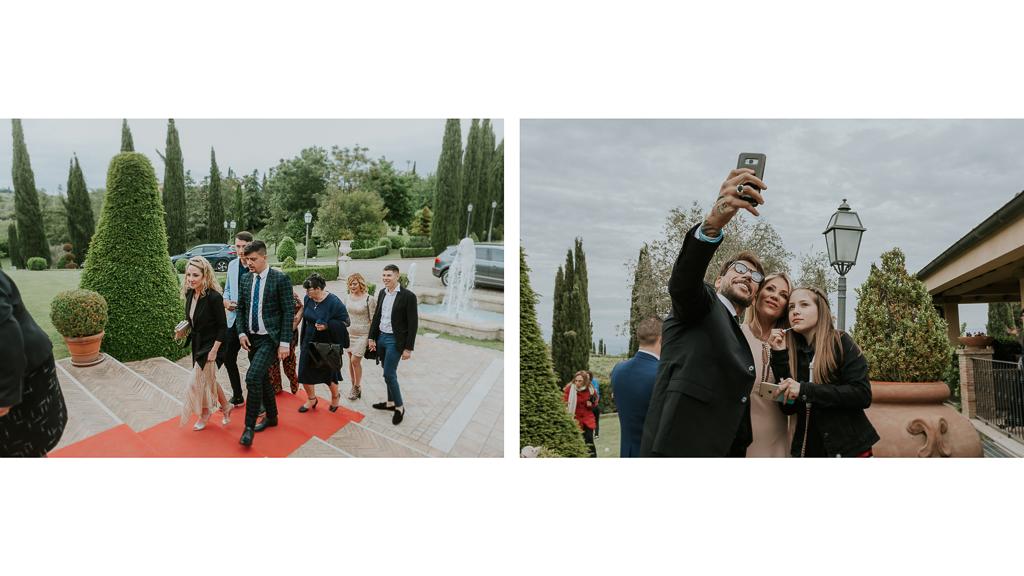 accoglienza ospiti matrimonio tenuta ceccucci roma