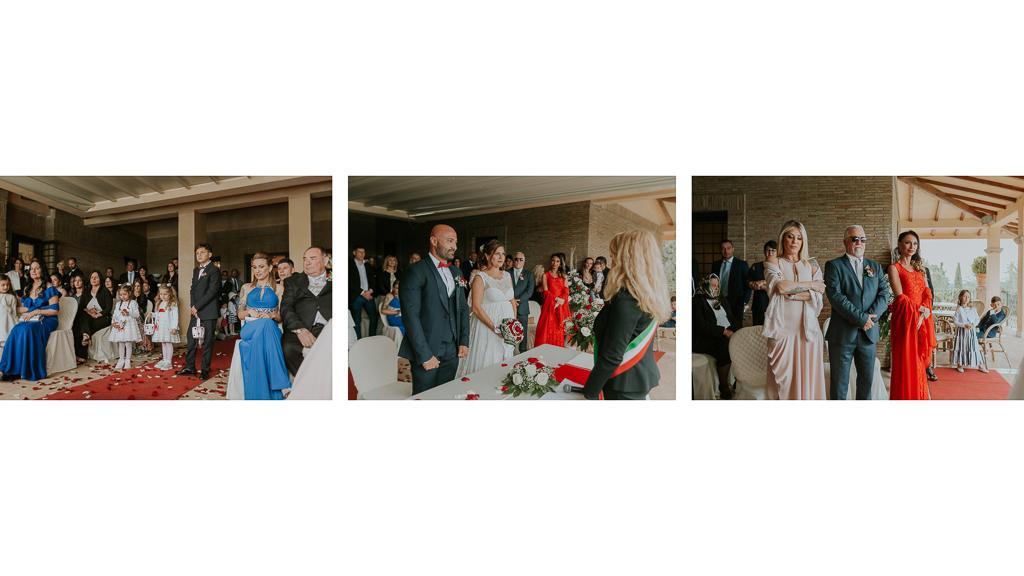 cerimonia di matrimonio tenuta ceccucci roma
