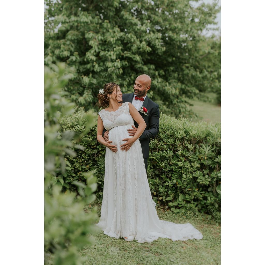 sposa in gravidanza a roma