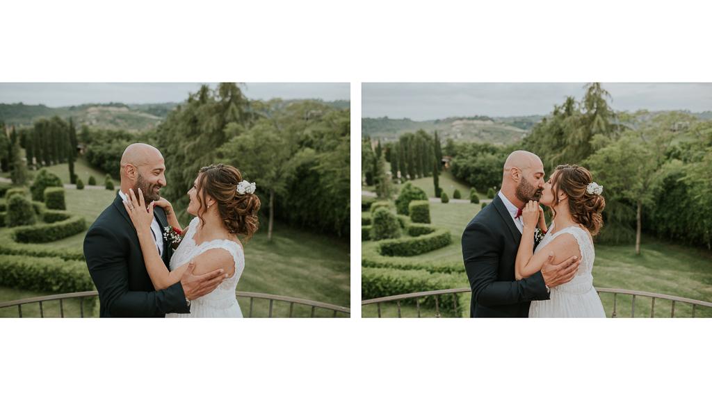 shooting fotografico di matrimonio