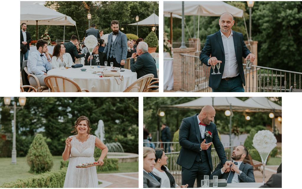 buffet ricevimento matrimonio tenuta ceccucci roma