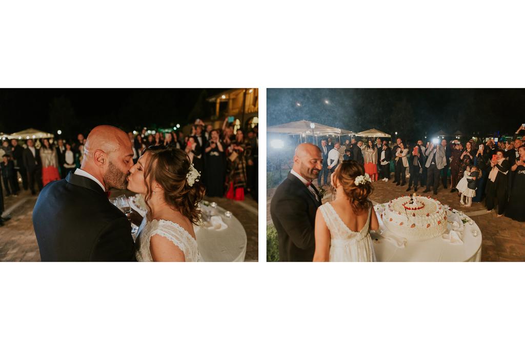 matrimonio serale tenuta ceccucci roma