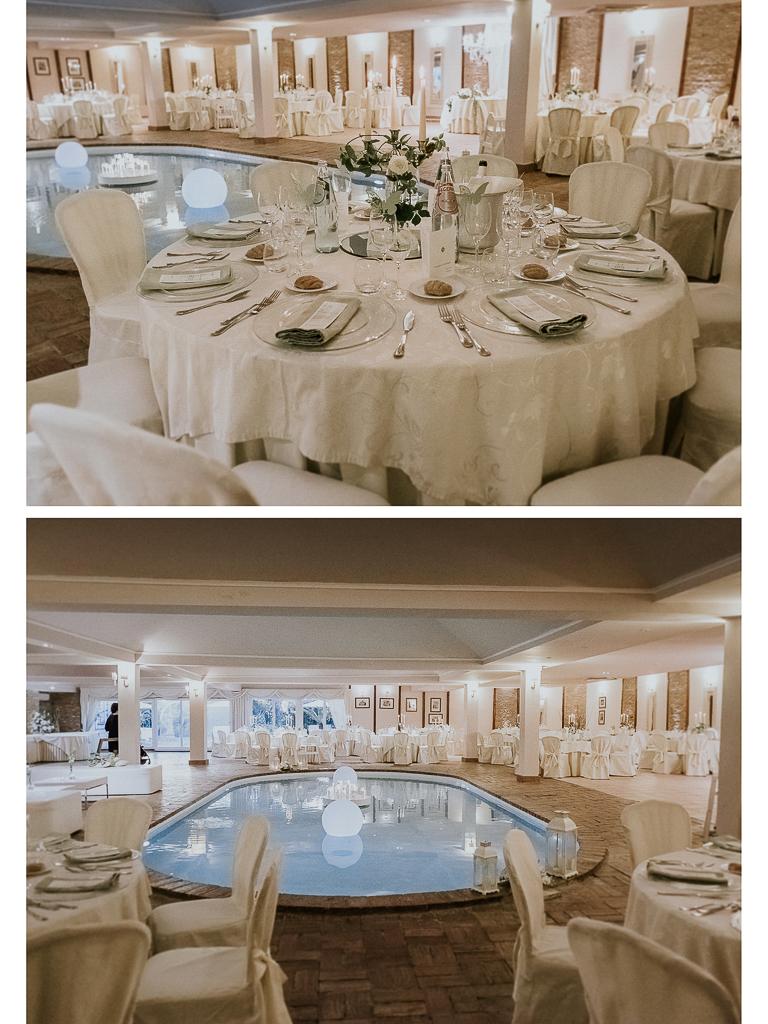 allestimento sala matrimonio villa grant roma