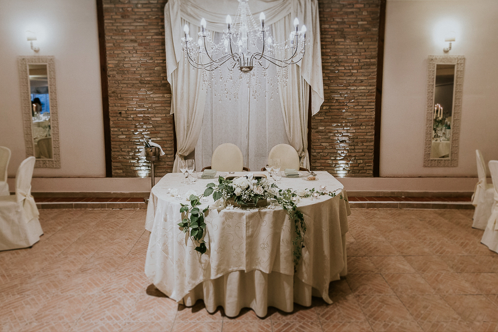 il tavolo degli sposi a villa grant a roma