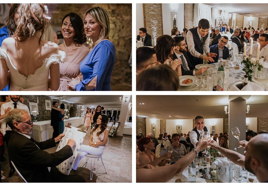 brindisi e ricevimento di matrimonio in villa grant a roma