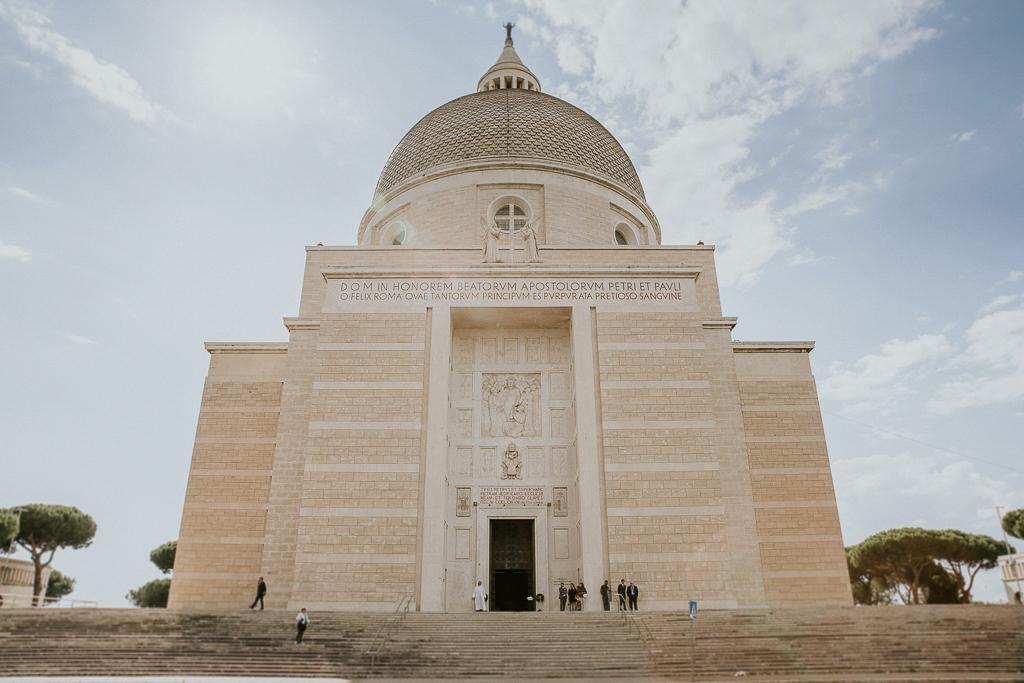 la chiesa del matrimonio a roma eur