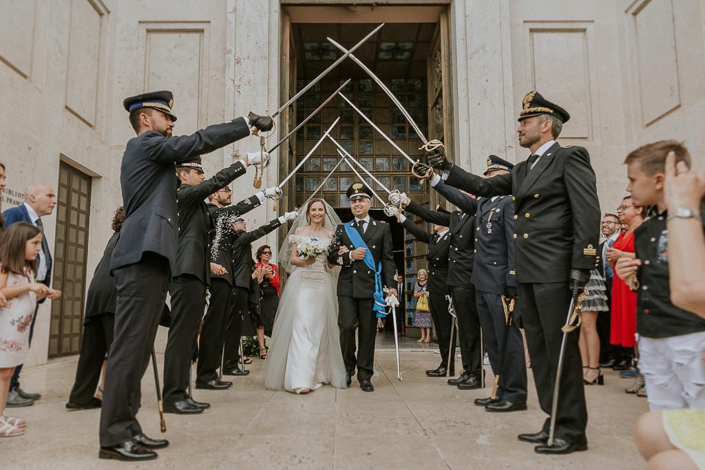 ponte di spade al matrimonio