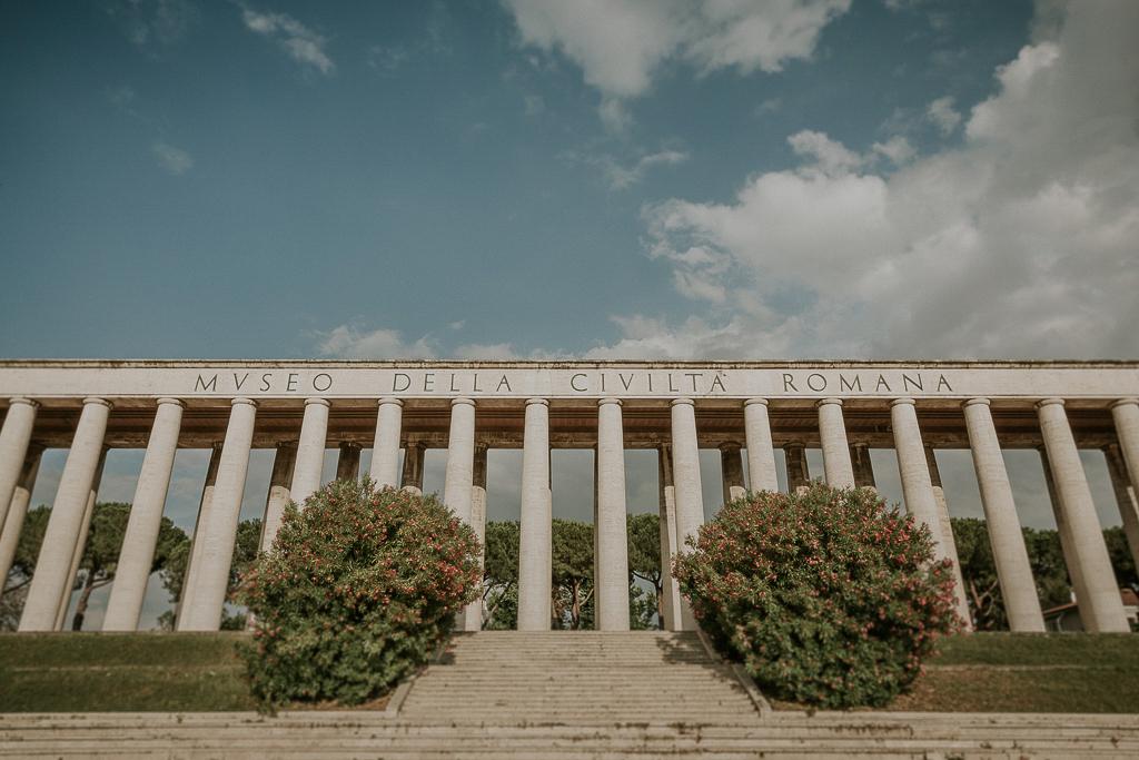 matrimonio presso museo della civiltà romana eur