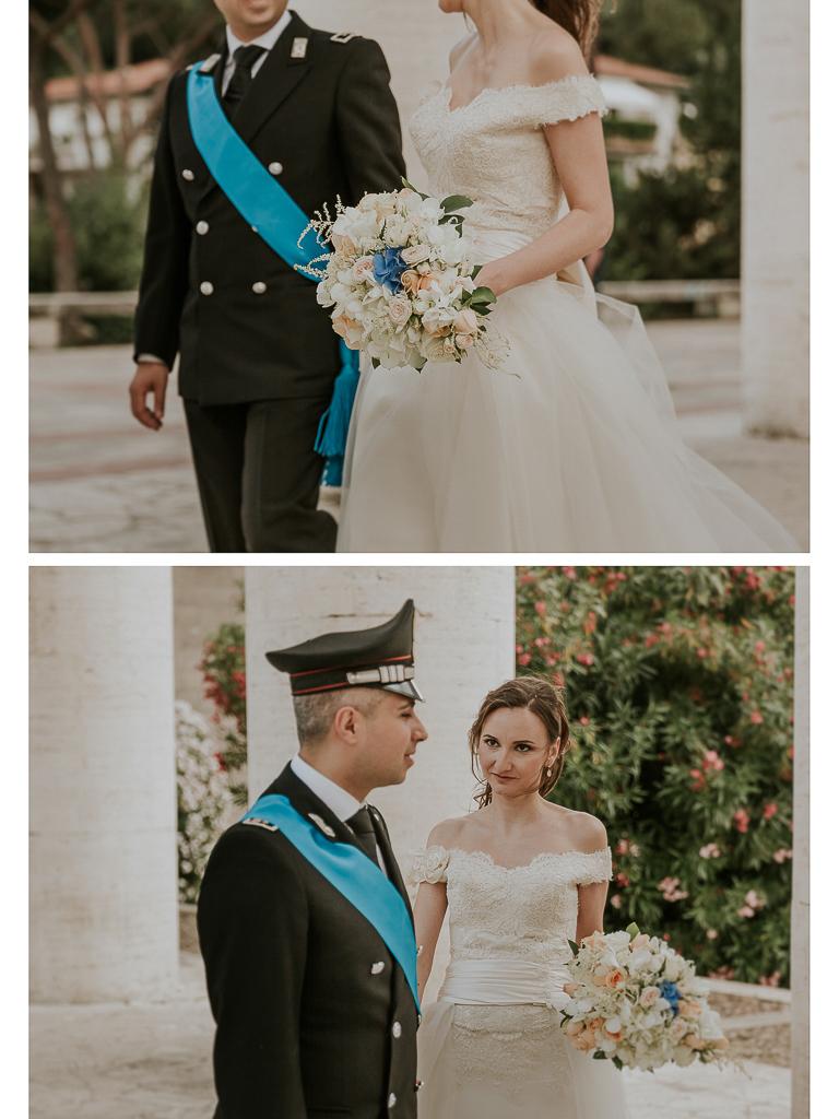 passeggiata sposi a roma