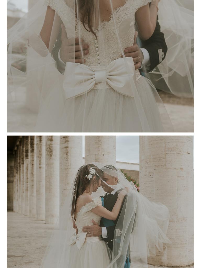 momenti romantici degli sposi