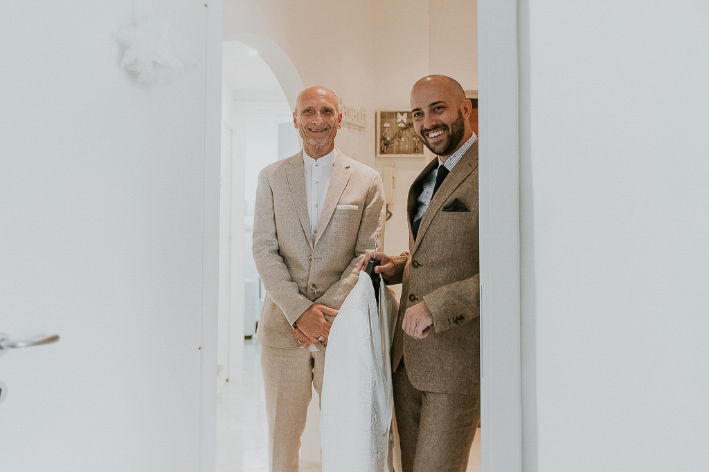 a casa dello sposo