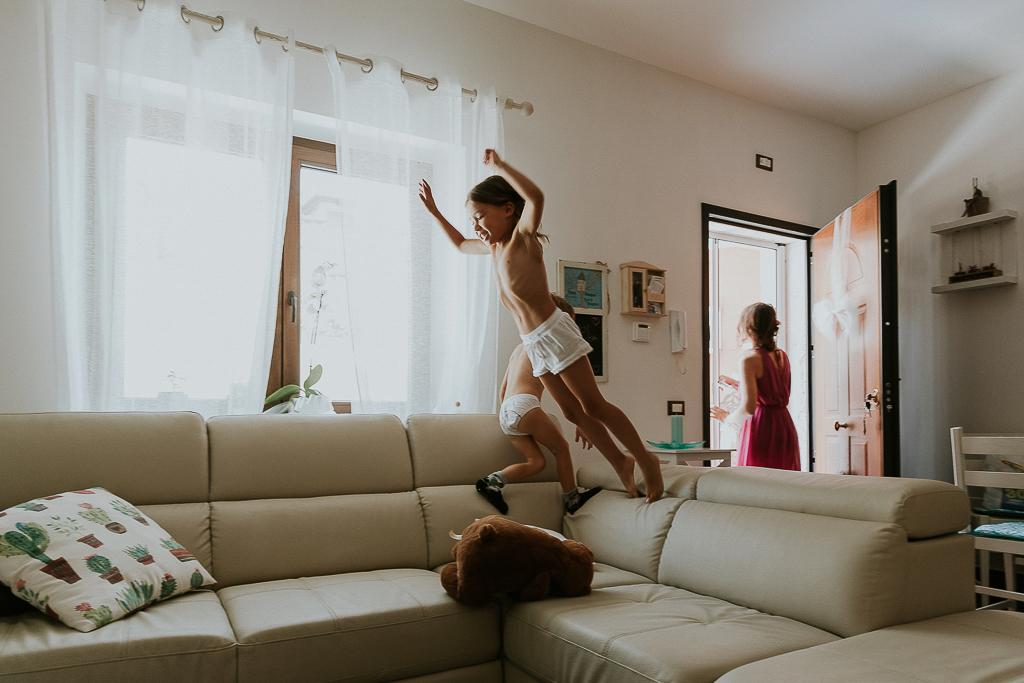 in casa dalla sposa