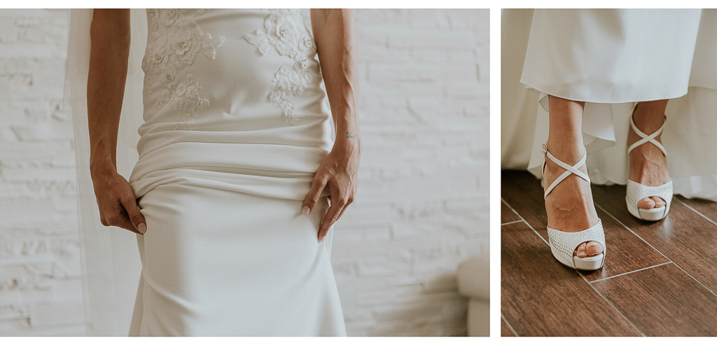 dettagli della sposa