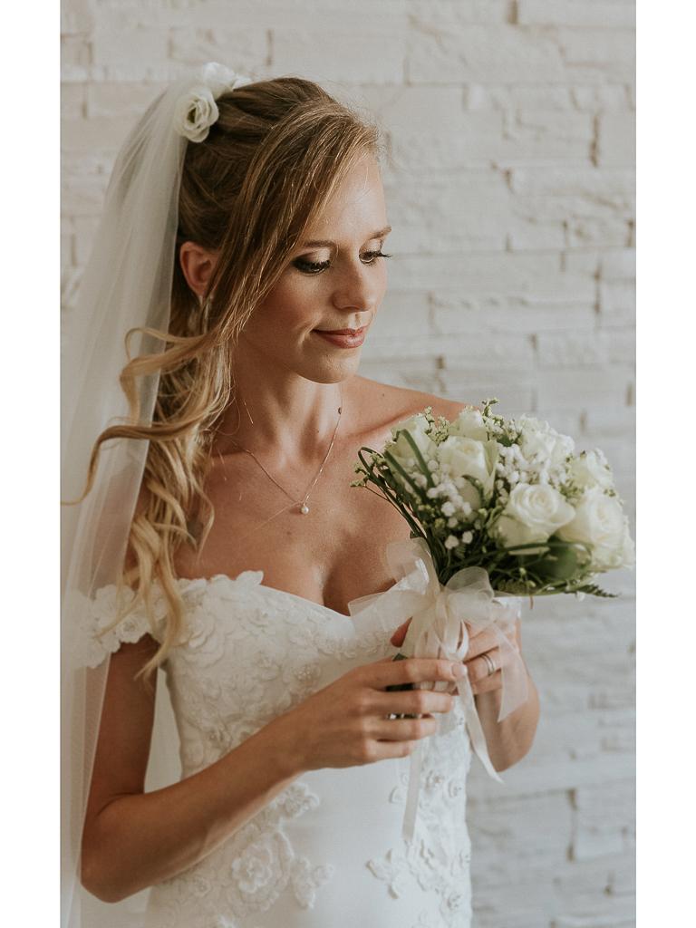 la sposa è pronta per il grande giorno
