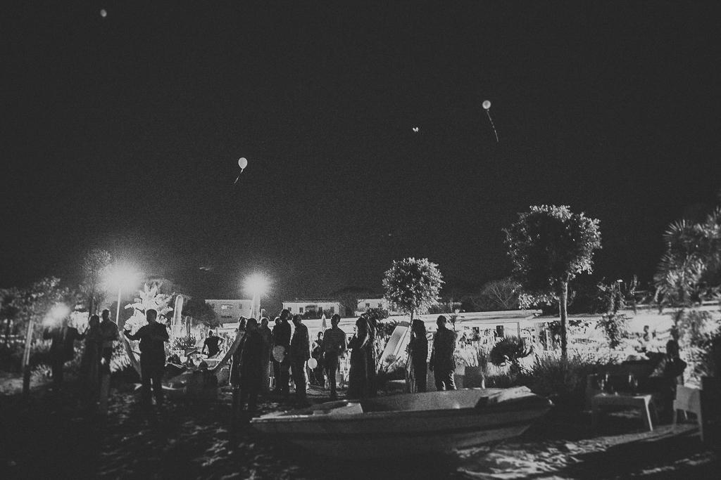 lancio palloncini matrimonio terracina