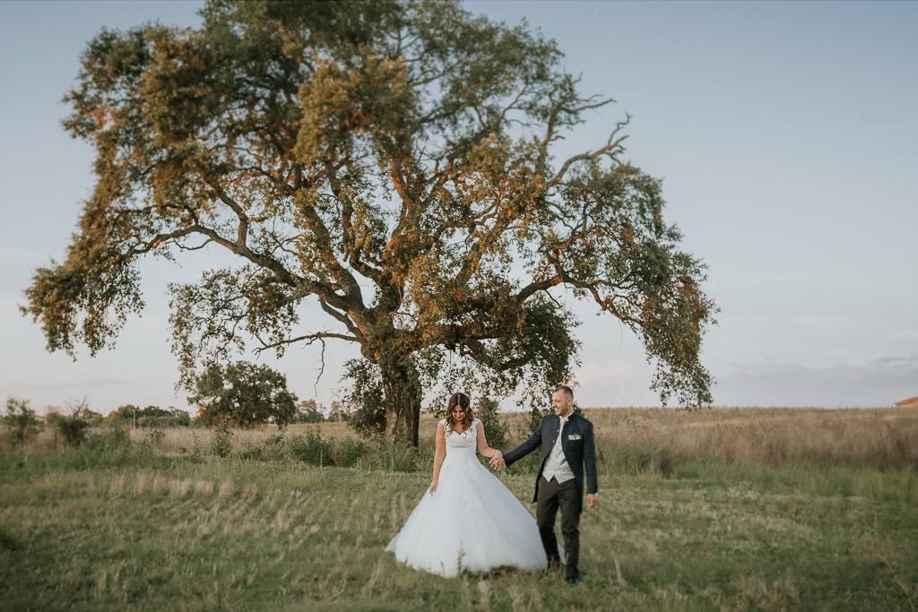 passeggiata in esterna di matrimonio a roma