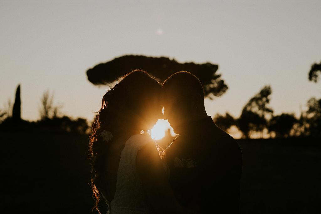 Foto di Matrimonio al tramonto a Roma