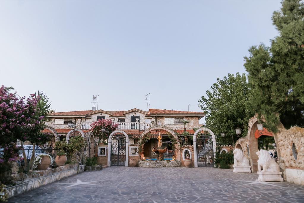 Villa Desirèe a Roma per ricevimenti di matrimonio