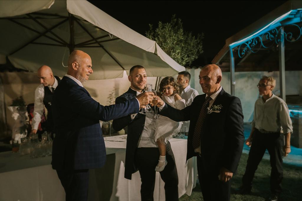 brindisi e ricevimento di Matrimonio in Villa Desirèe a Roma