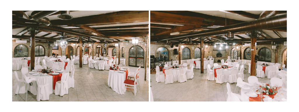 la sala del ricevimento di Matrimonio in Villa Desirèe a Roma