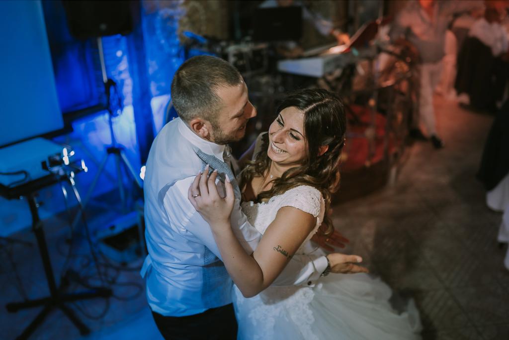 ballo degli sposi in Matrimonio in Villa Desirèe a Roma