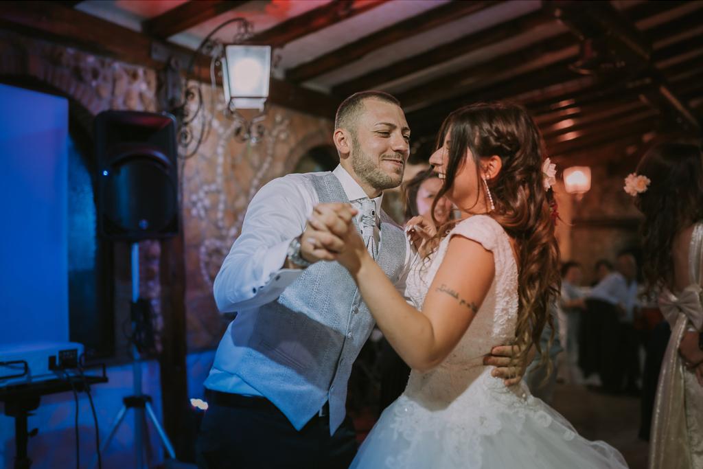 ballo sposi in Matrimonio in Villa Desirèe a Roma