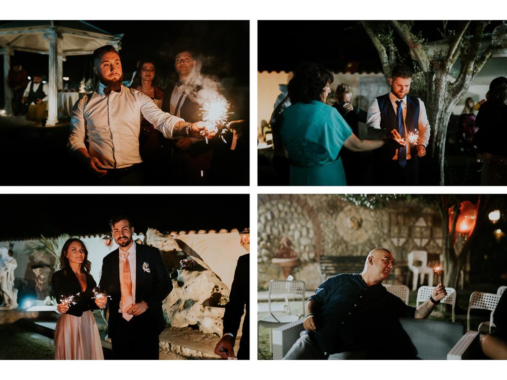 Matrimonio serale in Villa Desirèe a Roma
