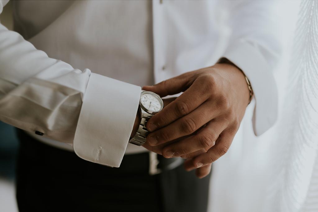 orologio dell sposo per il matrimonio a roma
