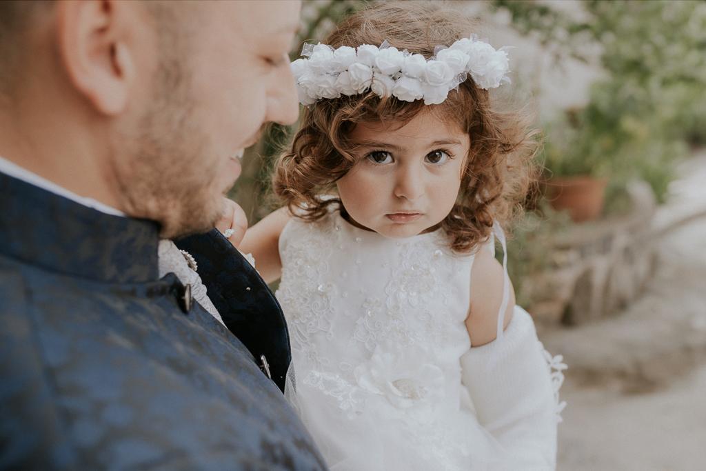 la figlia degli sposi