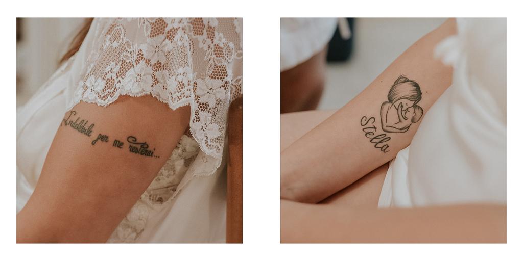i tatuaggi della sposa