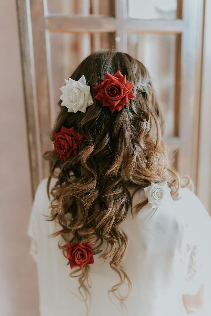 acconciatura della sposa