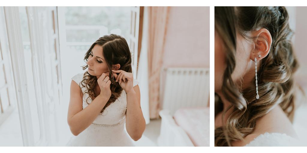 gli orecchini della sposa
