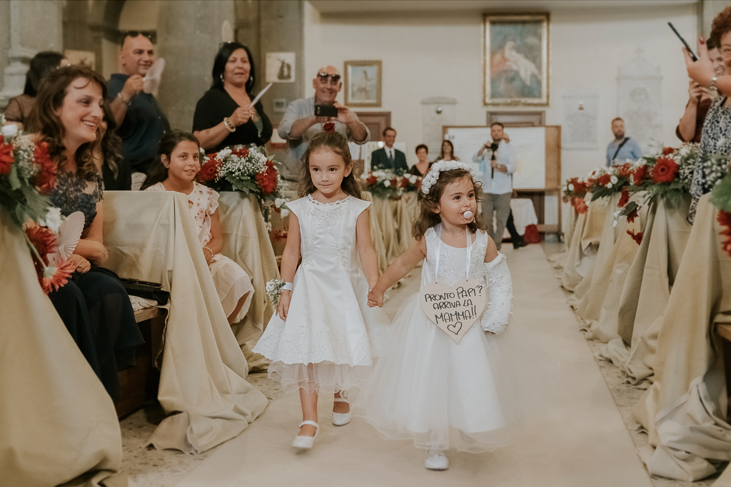 le damigelle del matrimonio