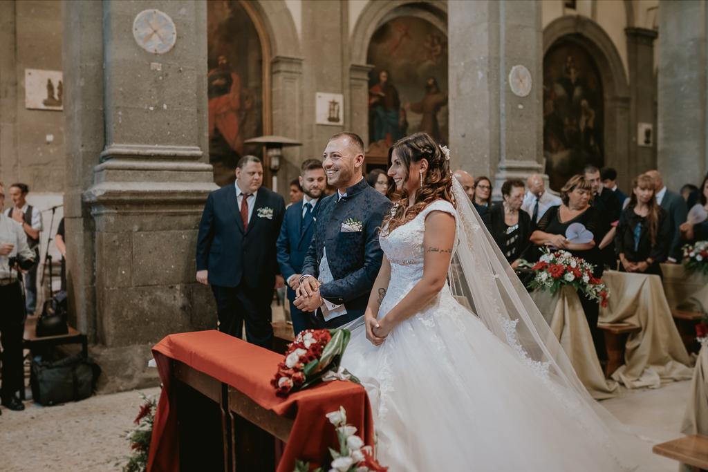 matrimonio in chiesa San Lorenzo Martire a formello