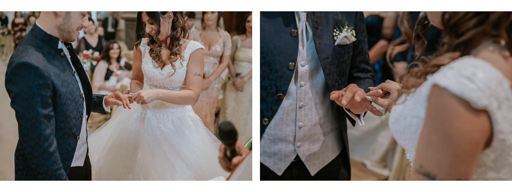 scambio anelli degli sposi