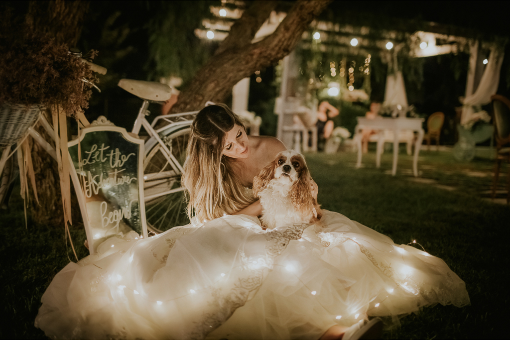matrimonio serale presso tenuta agrivillage a Roma
