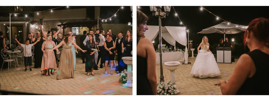 balli del ricevimento di matrimonio serale