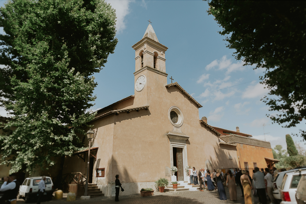 Chiesa San Pancrazio isola Farnese