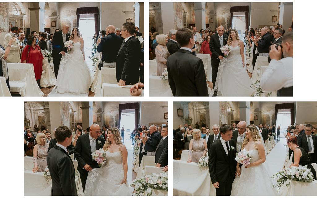 matrimonio presso San Pancrazio isola Farnese