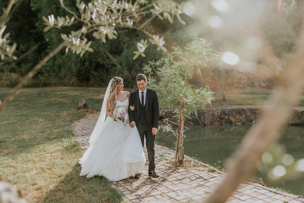 passeggiata matrimonio presso tenuta agrivillage a Roma