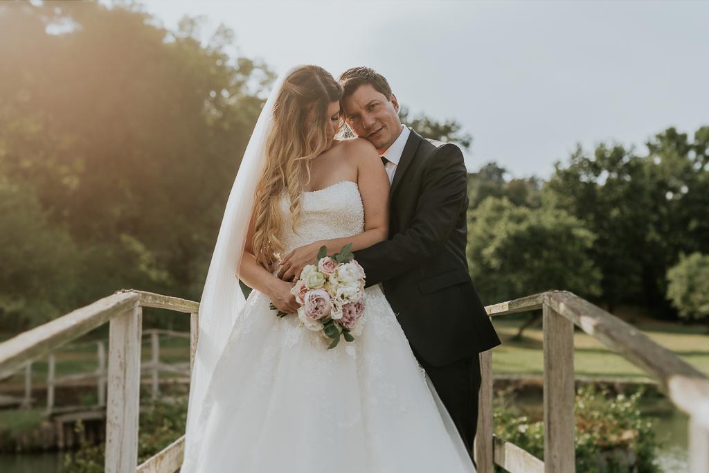 sposi presso tenuta agrivillage a Roma