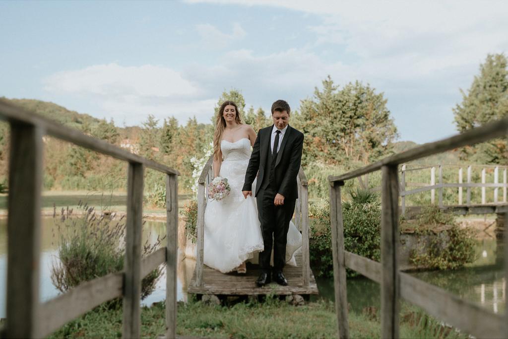 sposi matrimonio presso tenuta agrivillage a Roma